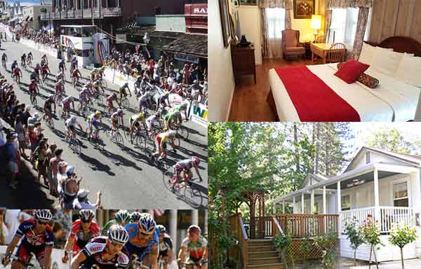 Bicycle Race - Nevada City Classic hotel in Nevada City CA