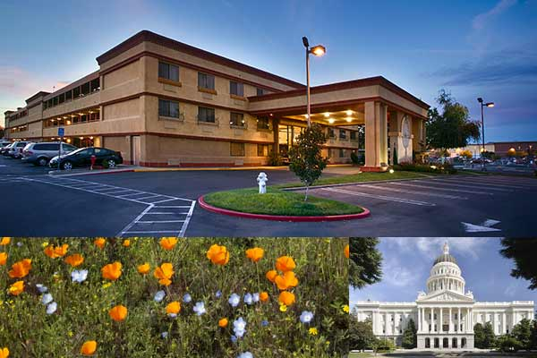 June summer special upgrade for hotel in Roseville CA