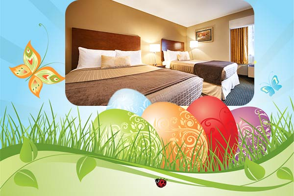 April special 15 percent off for hotel in Martinez CA