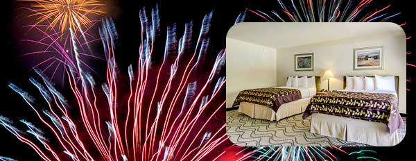 new year special 10 percent off for hotel in Sacramento CA