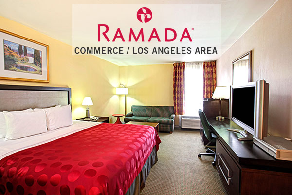 Hotels in Commerce CA or Los Angeles CA - king Bed