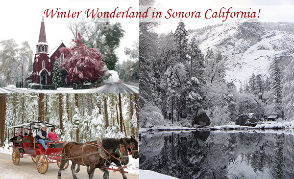 photo of sonora california winter place