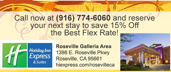 Hotels in Roseville Rate Special