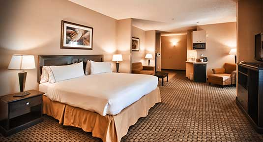 Comfortable and relaxing hotel rooms in Roseville CA