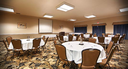 banquet and event space inside hotel in concord ca