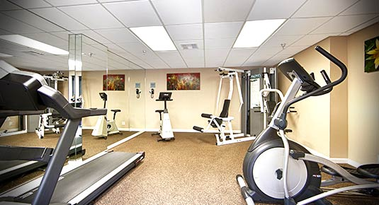 Fitness Center Hotel in Irvine CA