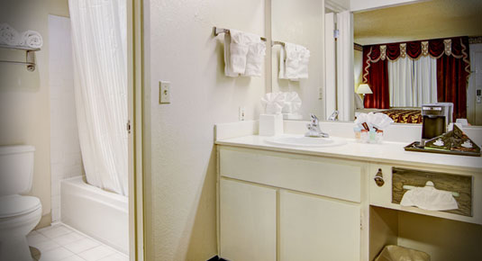 private spacious bathrooms - sacramento ca hotel